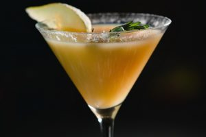 Pear Bourbon Martini