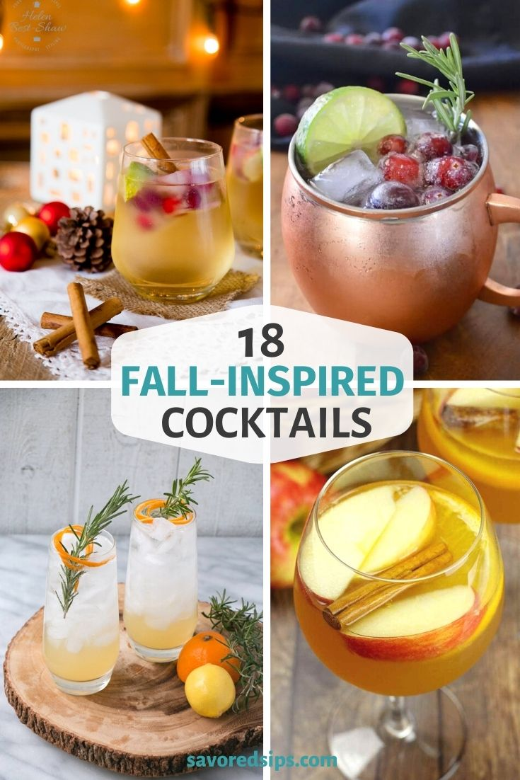 Fall-Inspired Cocktails