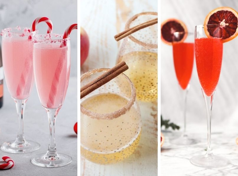 10 Delicious & Festive Holiday Mimosas