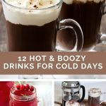12 Hot & Boozy Drinks for Cold Days