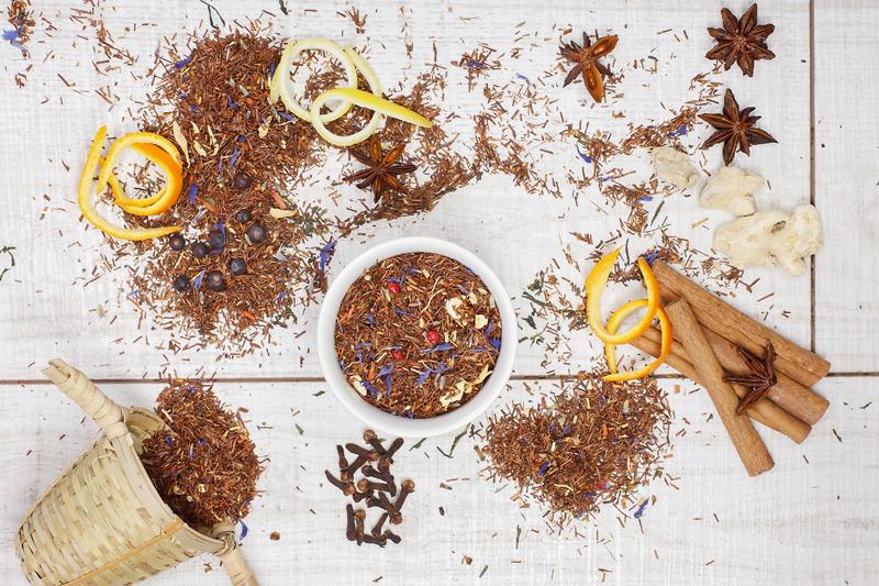 herbal rooibus tea