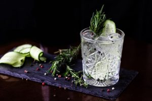Cucumber Rosemary Tonic Mocktail