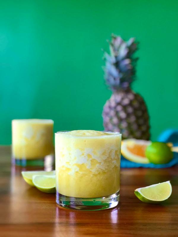 pineapple margarita mocktail