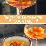 Tangerine Champagne Cocktail