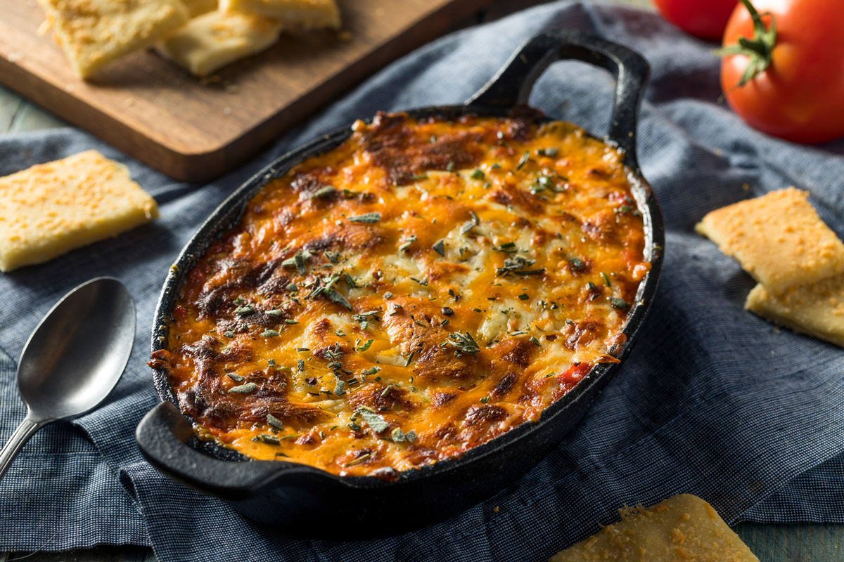 Irresistible Baked Pizza Dip