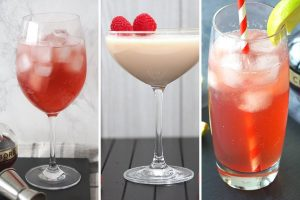 Chambord cocktails
