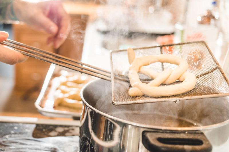 cooking soft pretzels
