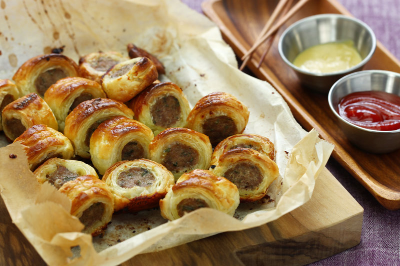 Puff Pastry Sausage Roll