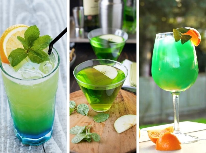 St Patrick's Day Cocktails