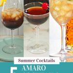 Amaro Cocktails