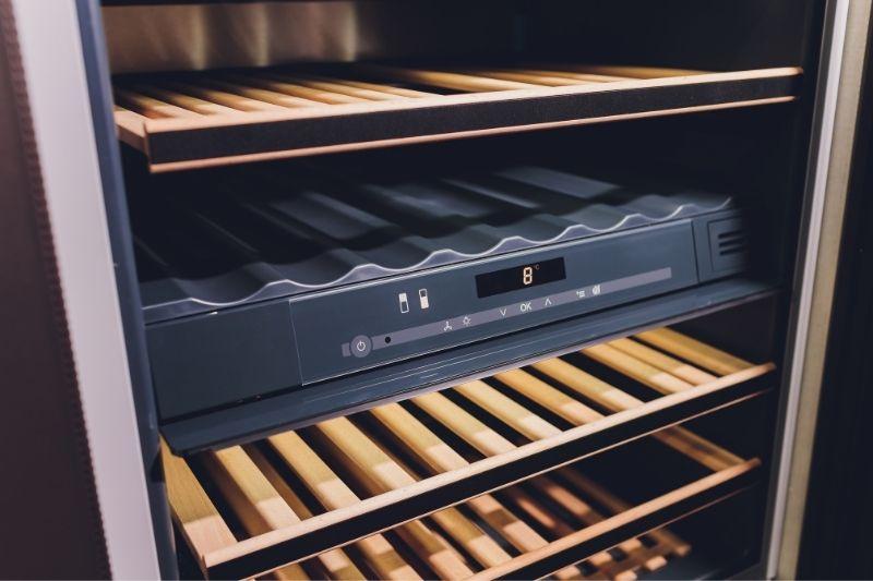 wine refrigerator dual temperature control