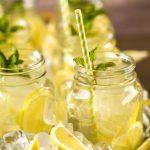 Iced Green Tea With Lemon
