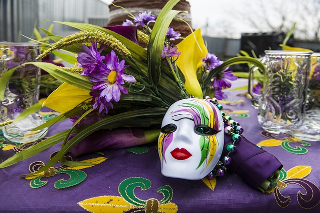 Mardi Gras Theme Supper Club