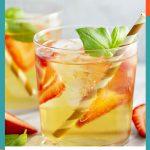 Strawberry Green Tea Lemonade
