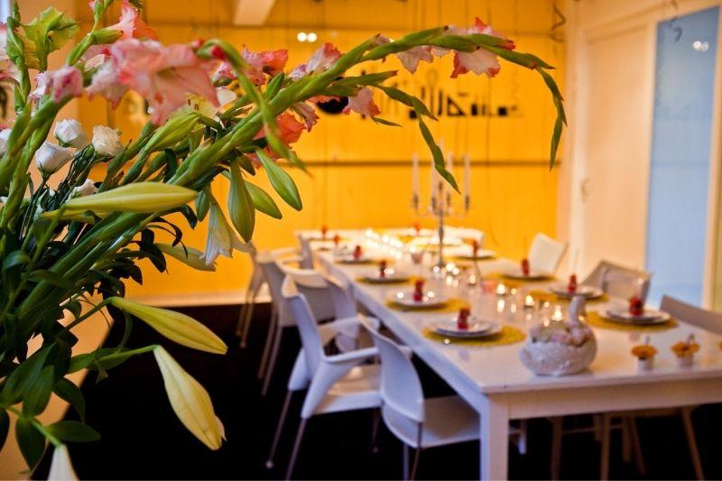 supper club setting