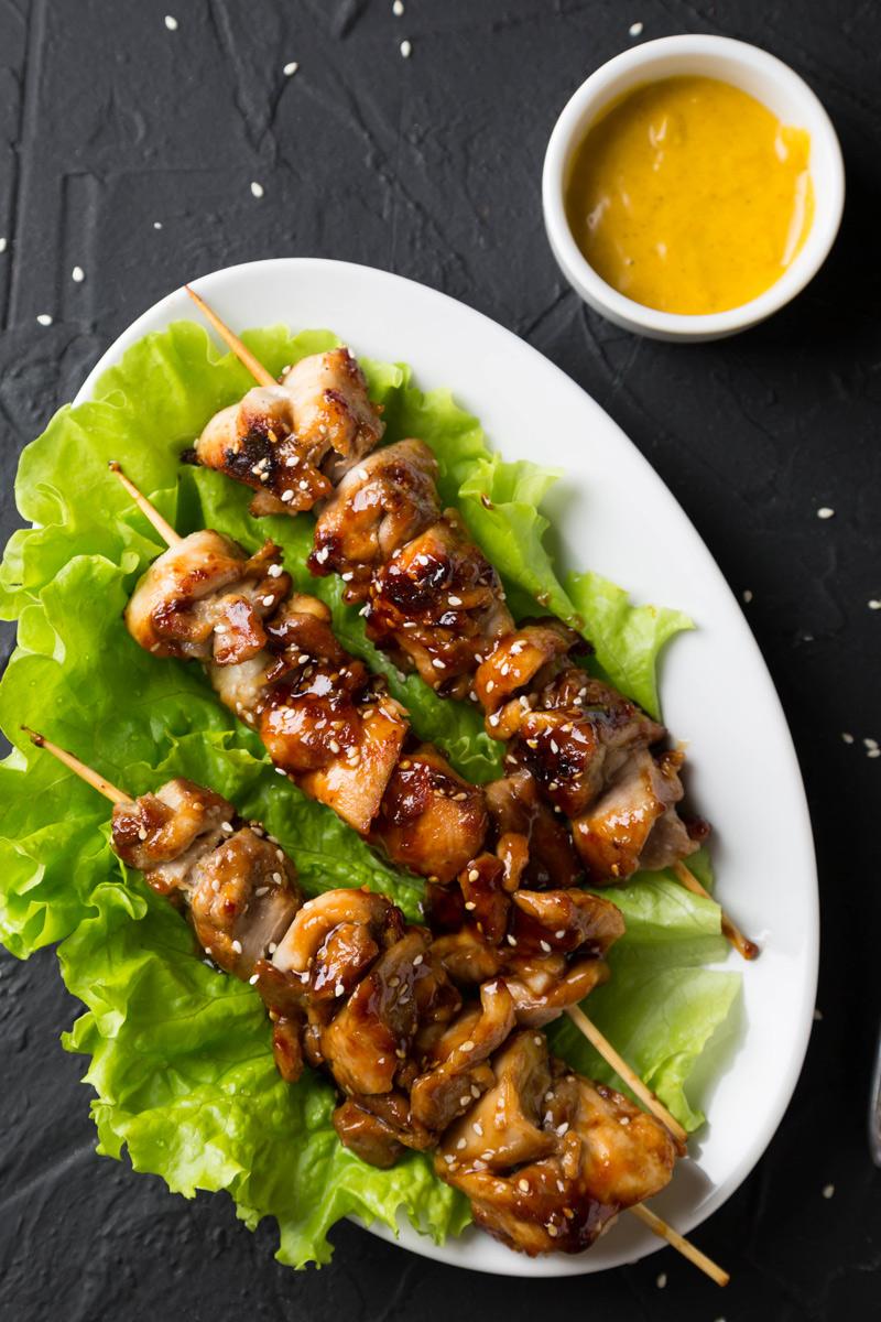 Teriyaki Chicken Skewers