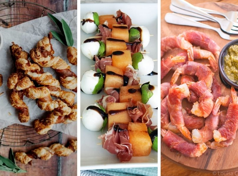 12 Best Appetizers with Prosciutto