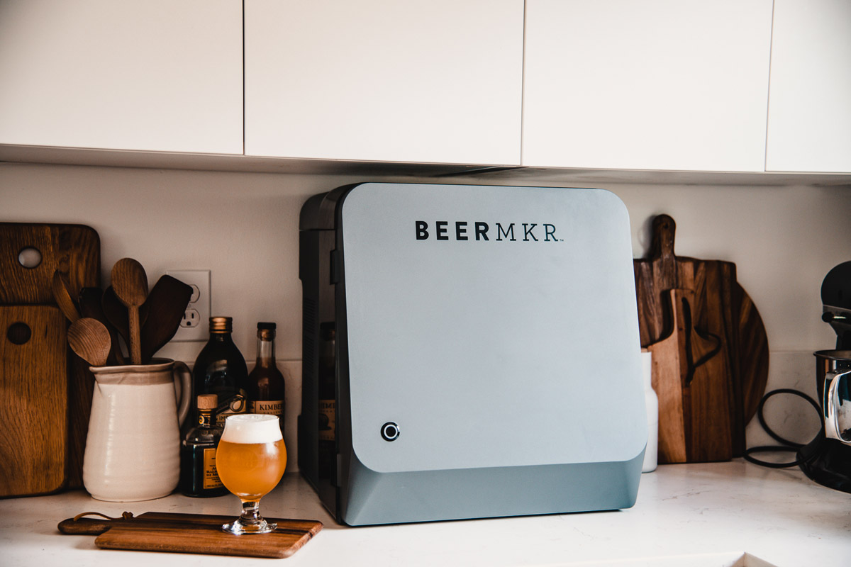 BEERMKR homebrewing system